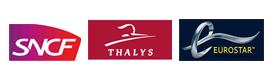 logo SNCF Thalys Eurostar